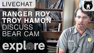 Ranger Roy discusses Katmai Bear Cam - Brown Bear Live Chat 08.01.2014 thumbnail