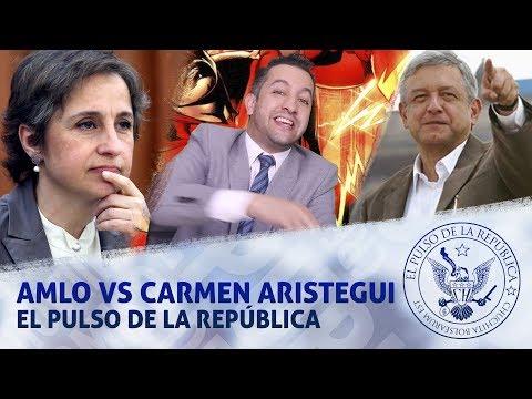 AMLO VS CARMEN ARISTEGUI - EL PULSO DE LA REPÚBLICA