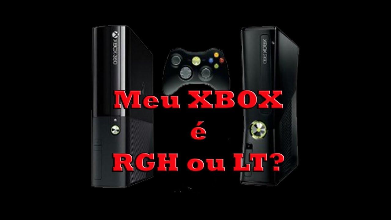 Como Saber Se O Beber Encaixou: Como Saber Se O Xbox é RGH Ou LT