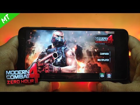 How to install Modern Combat 4 Zero Hour  2019  |  Android Oreo