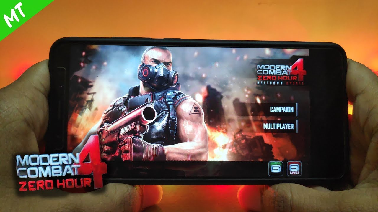 How To Install Modern Combat 4 Zero Hour 2019 Android Oreo Youtube