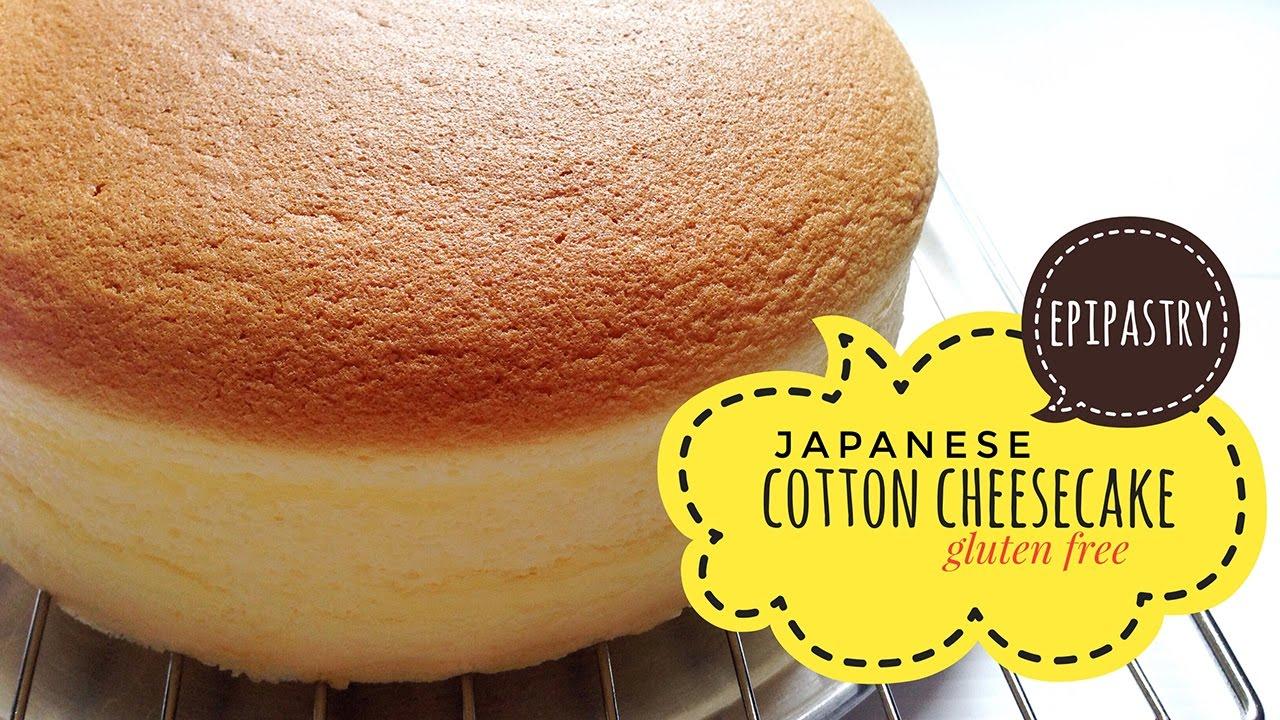 Light Japanese Cotton Cheesecake Gluten Free Youtube