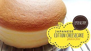 Light Japanese Cotton Cheesecake Gluten Free