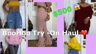 $500 BooHoo Try-On Haul 🥵🤩