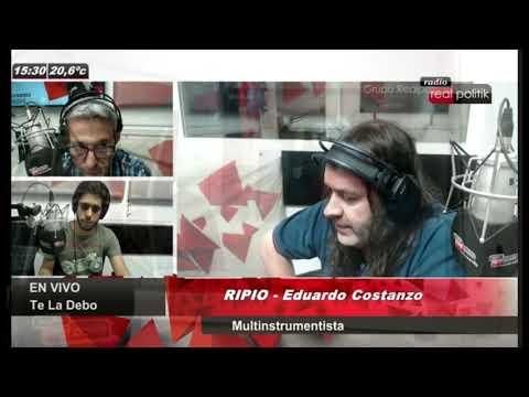 RIPIO en Te la debo / Real politik Radio 89.5 Fm / La Plata