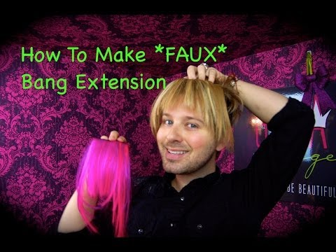 How To Make FAUX Bang Extensions thumbnail