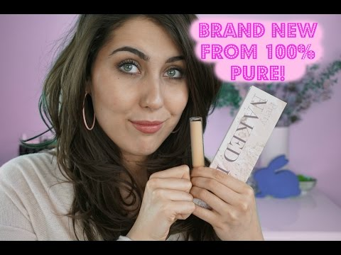 FIRST IMPRESSIONS: NEW! 100% PURE 2ND SKIN CONCEALER & PRETTY NAKED II // The Green Bunny