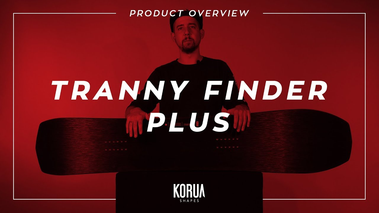 Korua Shapes Product Overview Tranny Finder Plus Snowboard
