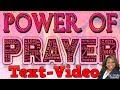 TextVideo: Atomic Power of Prayer by Dr. Cindy Trimm!