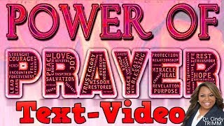 Atomic Power of Prayer by Dr. Cindy Trimm!