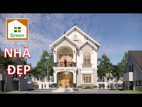 NHÀ ĐẸP 2021 Mẫu NhÀ 2 Tầng Tân Cổ Điển Đẹp 5 Phòng Ngủ Tại Quảng Ninh