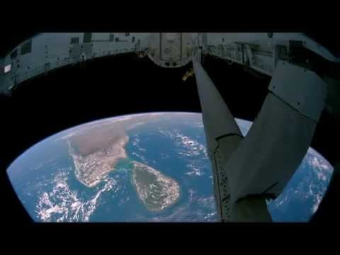 View from Space station ( SriLanka and India)