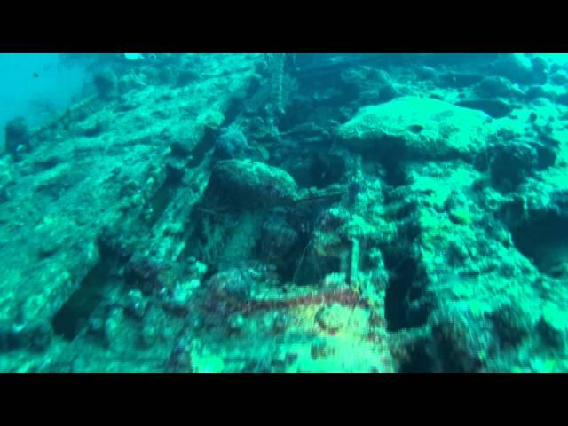 日本海軍潜水艦伊169 Submarine Wreck