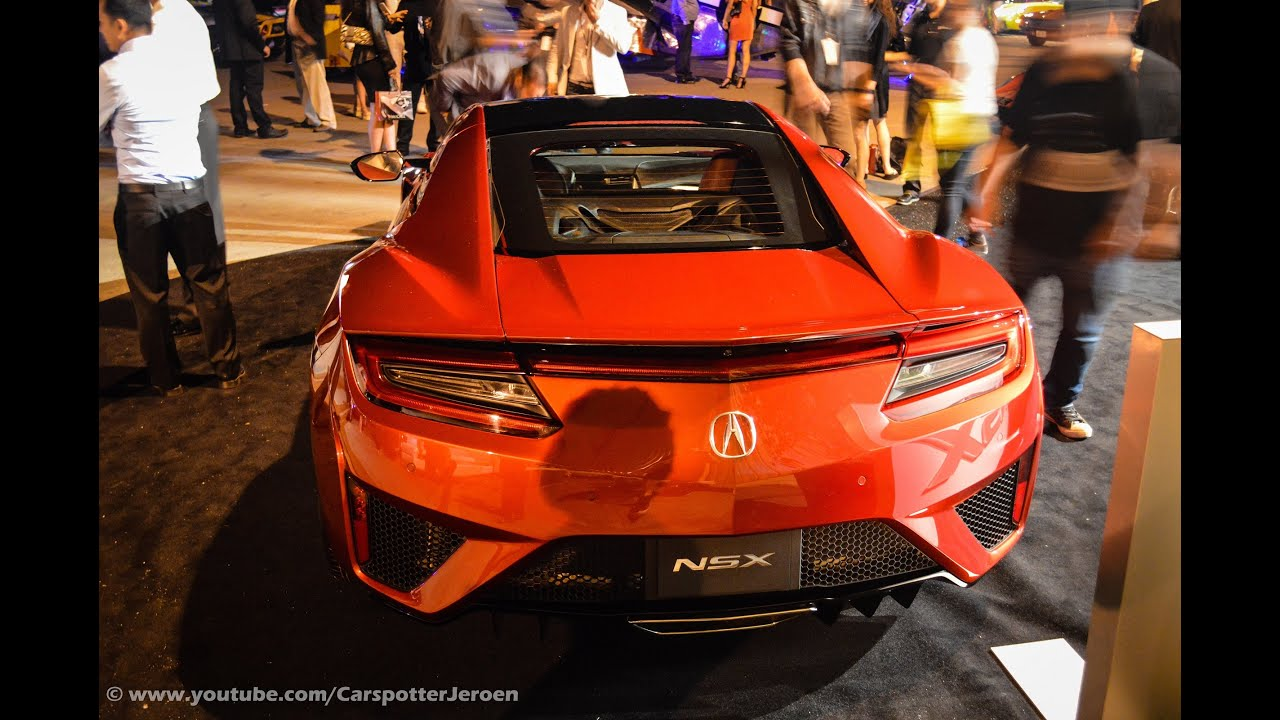 The new 2016 Honda / Acura NSX | Mccall Motorsport Reunion ...