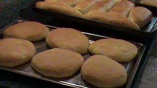 Thin Hamburger Buns