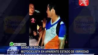 TARAPOTO NOTICIAS: MOTOCICLISTA EN APARENTE ESTADO DE EBRIEDAD SE DESPISTA CAMINO A JUAN GUERRA .