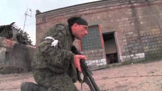 Донецк  Штурм аэропорта Ополчением +18  Часть 2  26 сентября 2014