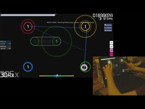 osu! - Witch Doctor TAG4 FC Touchscreen Liveplay