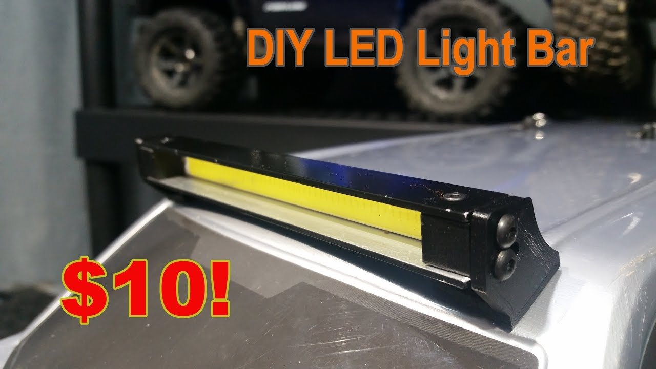 How to diy rc crawler light bar youtube how to diy rc crawler light bar aloadofball Image collections