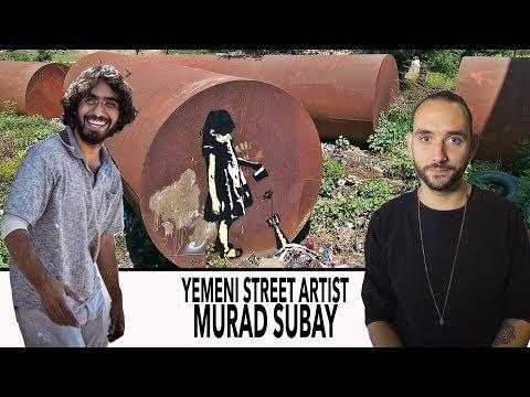 FWTV - Get to know YEMENI STREET ARTIST MURAD SUBAY