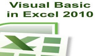 Excel 2010 VBA Tutorial 8 - Strings