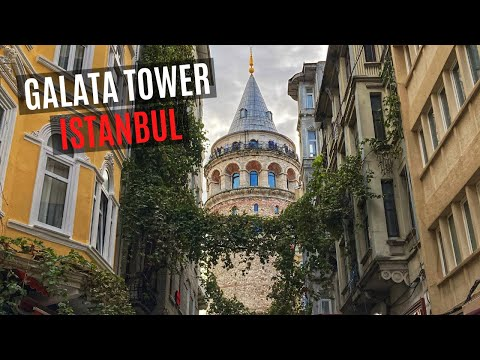 GALATA TOWER TOUR | Best Panoramic Views in Istanbul, Turkey