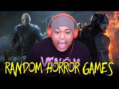 Lasst uns ein paar zufällige gruselige Spiele spielen !!! + video