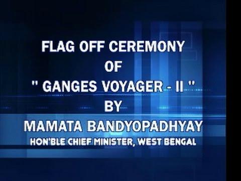 """FLAG OFF CEREMONY OF """" GANGES VOYAGER - II"""""""