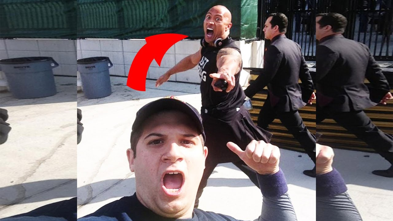 47 Awesome Celebrity Photobombs - College Candy