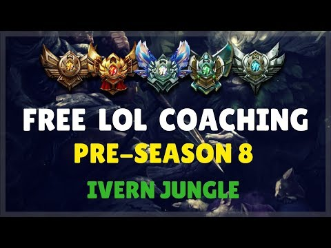 Free LoL Coaching Pre-Season 8: Silver Ivern Jungle VOD