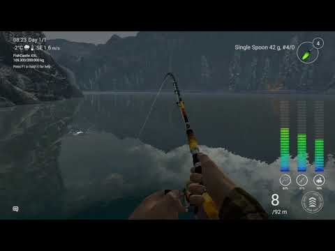 Fishing Planet Alberta Night and Day Testing