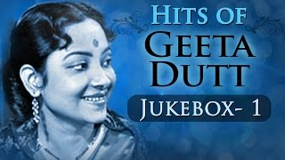 Best of Geeta Dutt Songs - Jukebox 1 - Evergreen Old Bollywood Songs - Geeta Dutt Old Hits