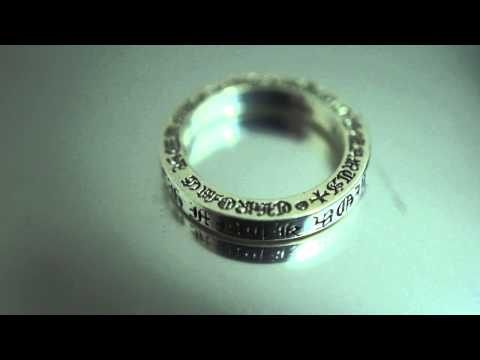 CHROME HEARTS spacer ring CH fuck you 3mm / クロムハーツ スペーサーリング CH fuck you 3mm