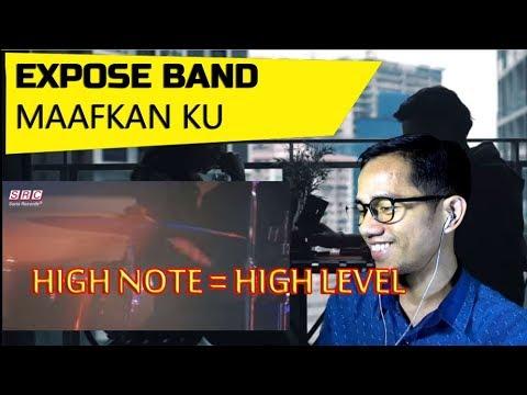 EXPOSE BAND -  MAAFKAN KU || MV REACTION #134
