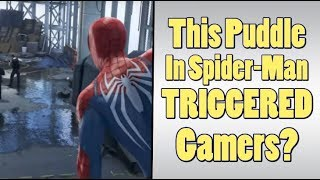 Spider Man Triggers Gamers With A Puddle?