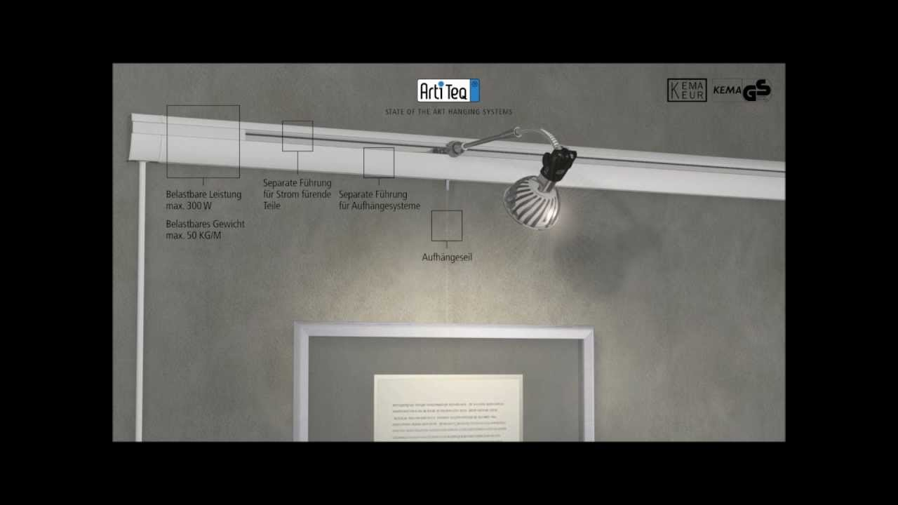 Schilderij ophangsysteem - Combi Rail Pro Light - Ophangsysteem.nu ...