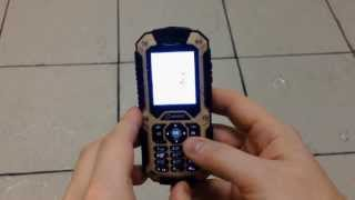 защищенный телефон SENSEIT P10 vs Лёд