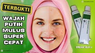 Cara memutihkan wajah dengan cepat dan aman menggunakan cream Dermovate kemasan hijau