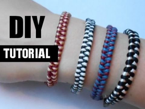 Bedwelming Armbandjes Vlechten Video Tutorial - YouTube #VO76