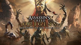 ASSASSIN'S CREED ORIGINS The Curse Of The Pharaohs All Cutscenes (Game Movie) PS4 PRO Enhanced