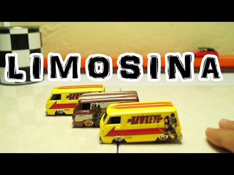 Custom Hot Wheels Limusina Limousine