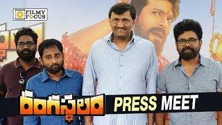 Rangasthalam Movie Press Meet  Ram Charan Sukumar Samantha - Filmyfocuscom