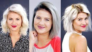 Nouvelle Couleur De Cheveux Et Le Style Tutoriel | Milabu