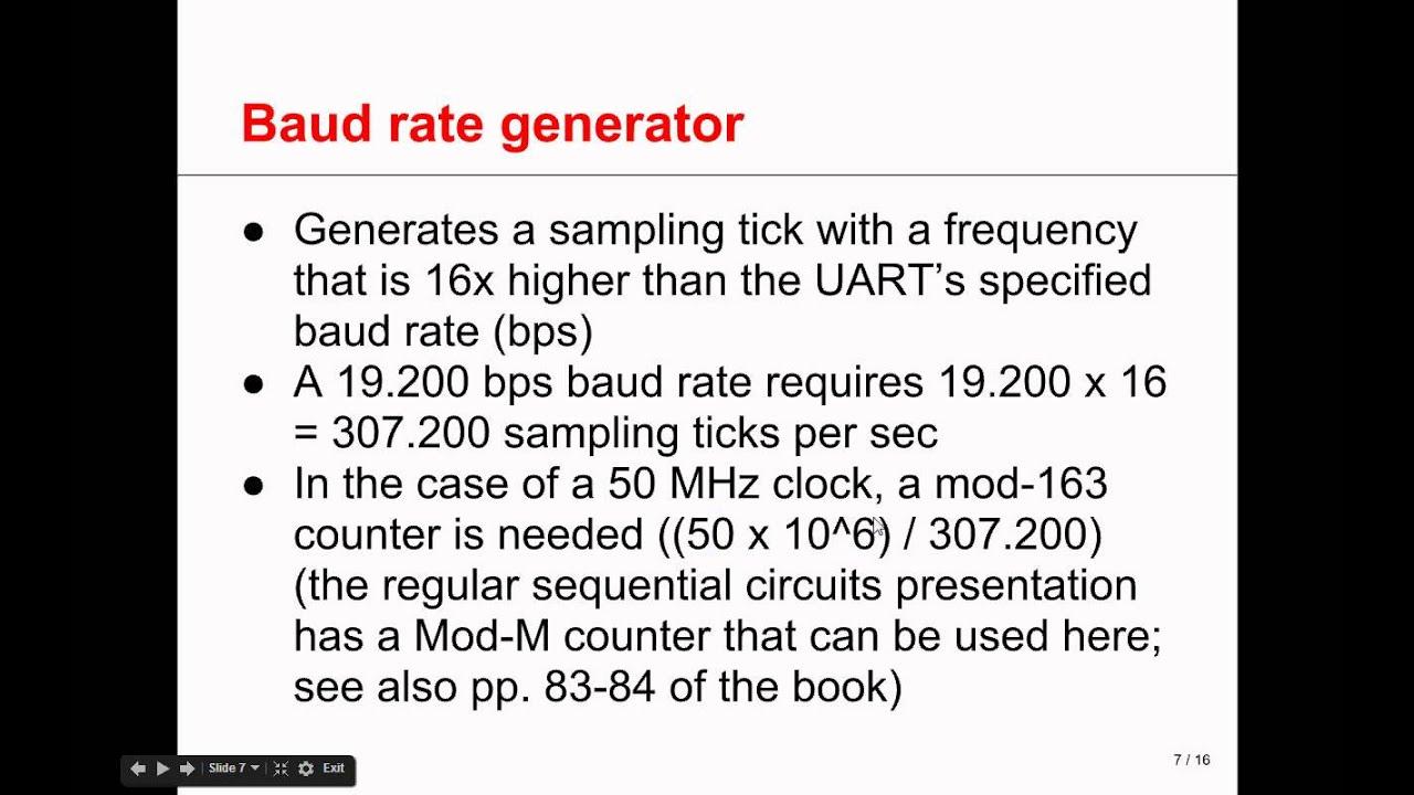 VHDL in Practice 2-UART