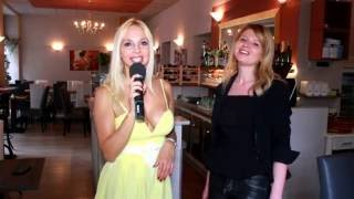 Giovanna Rigato INTERVISTA  LILYA KALAMANYCH  ristorante Randevu, a Music news