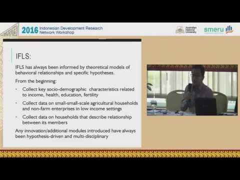 2016 Indonesian Development Research Network (IDRN) Workshop | Part 2