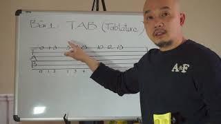 Guitar thực hành bài 1 (TAB là gì?)