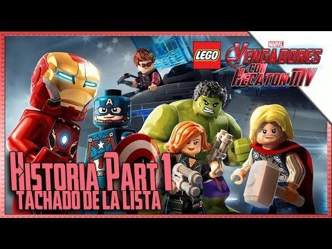 LEGO Marvel Avenger's part1 Guide1080pHD