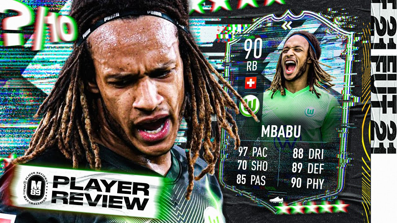 Download FLASHBACK MBABU PLAYER REVIEW | 90 FLASHBACK MBABU REVIEW | FIFA 21 Ultimate Team