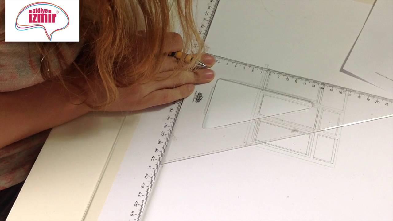 Mimarlık Pencere Teknik çizim çalışması Youtube